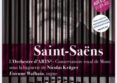 concert de prestige : Symphonie avec orgue de Saint-SaËNS